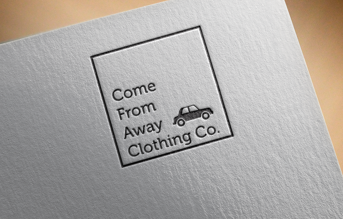 Logo Design by roc - Entry No. 43 in the Logo Design Contest Artistic Logo Design for Come From Away Clothing Company.