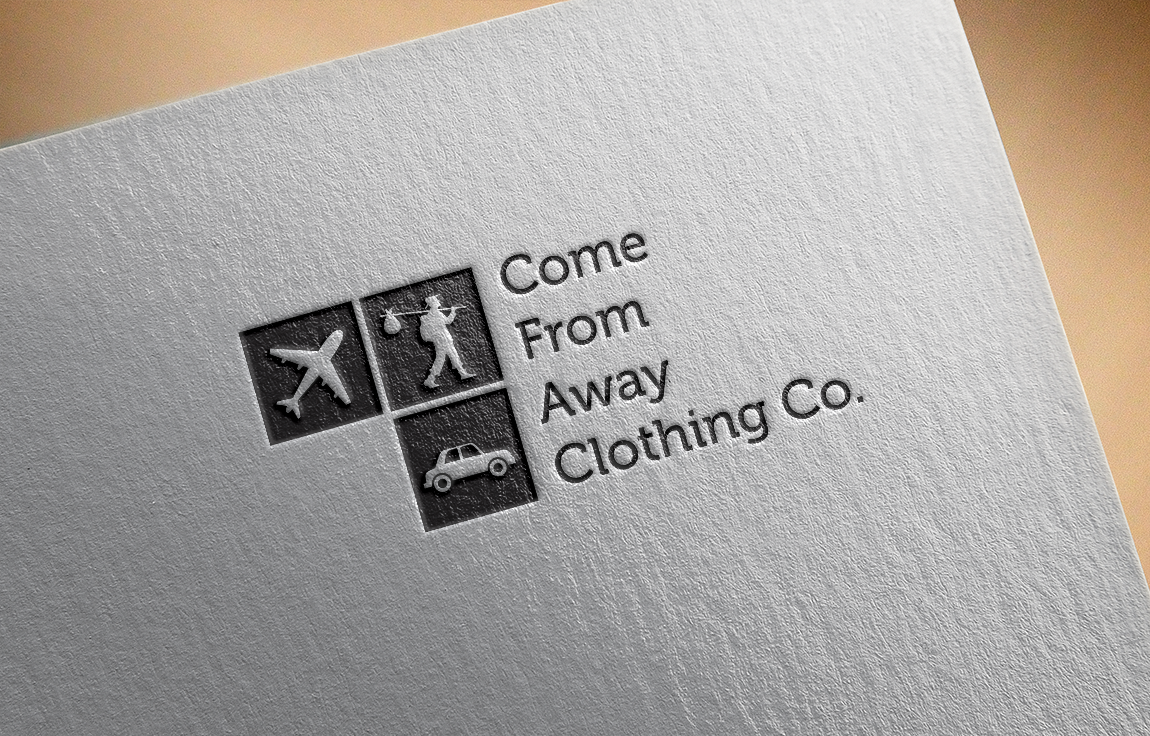 Logo Design by roc - Entry No. 45 in the Logo Design Contest Artistic Logo Design for Come From Away Clothing Company.