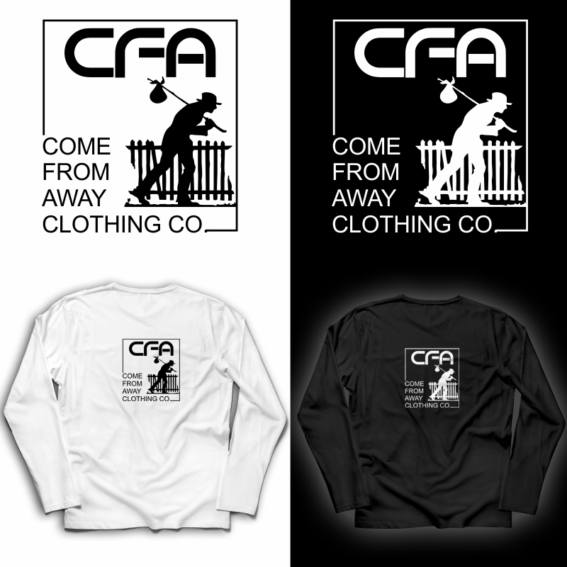 Logo Design by Private User - Entry No. 55 in the Logo Design Contest Artistic Logo Design for Come From Away Clothing Company.