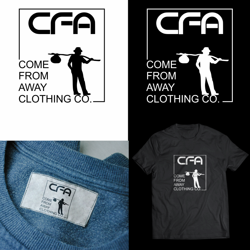 Logo Design by Private User - Entry No. 56 in the Logo Design Contest Artistic Logo Design for Come From Away Clothing Company.