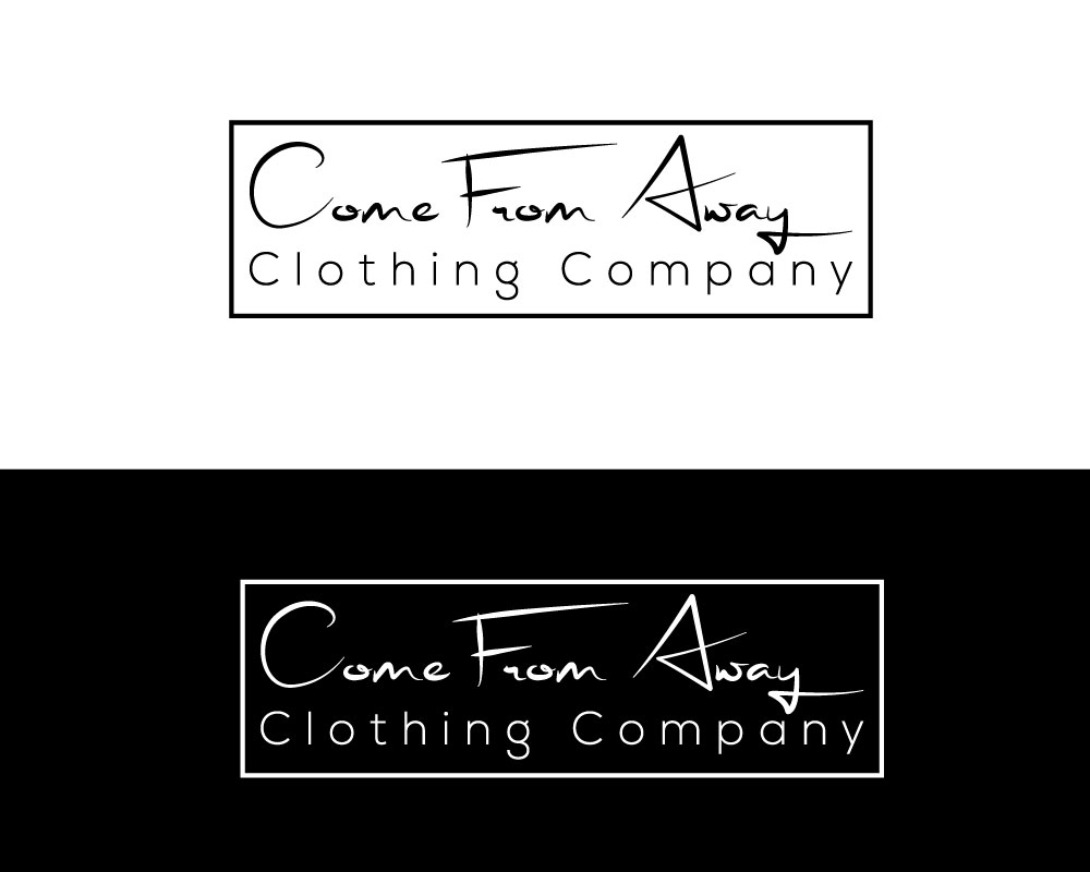 Logo Design by Md Harun Or Rashid - Entry No. 60 in the Logo Design Contest Artistic Logo Design for Come From Away Clothing Company.