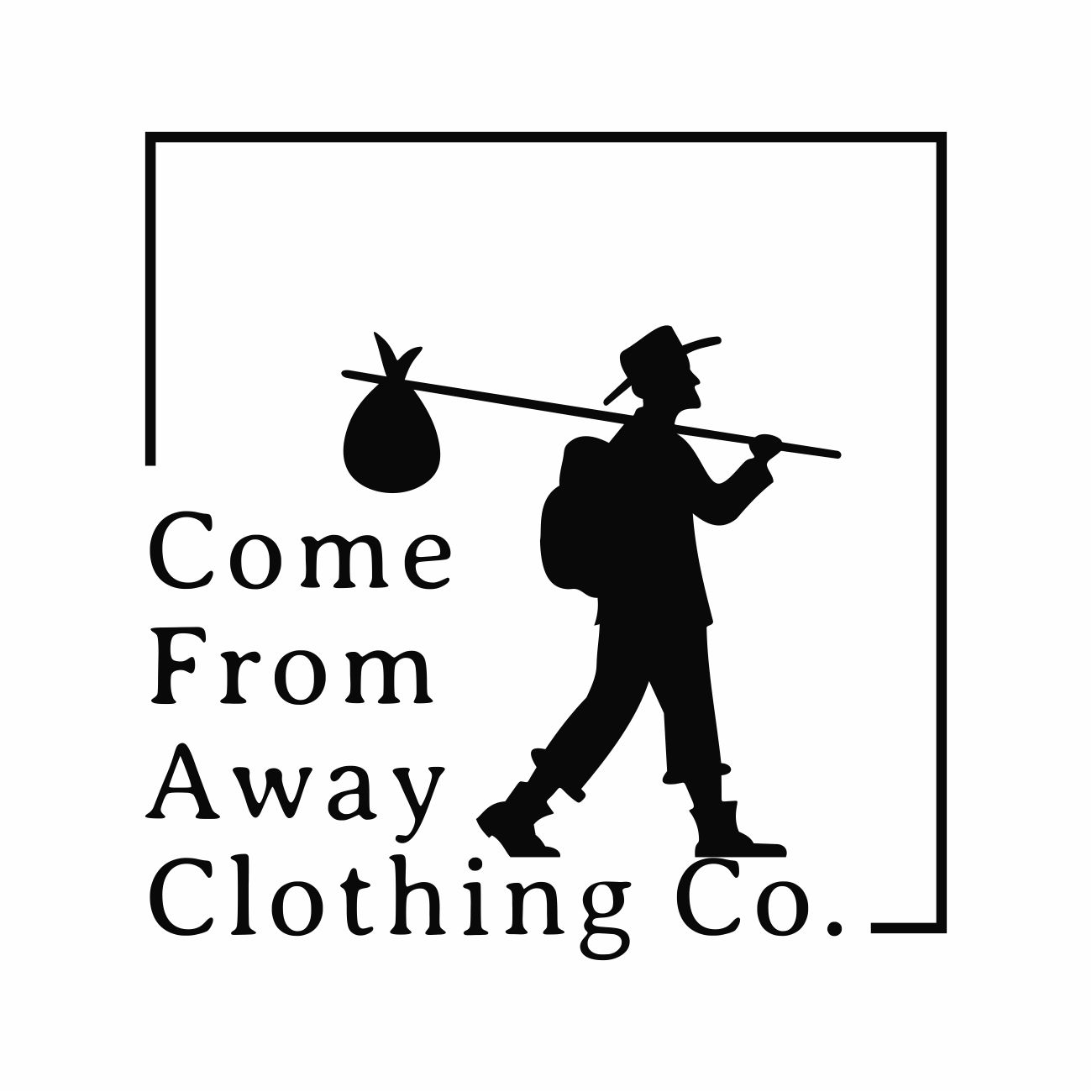 Logo Design by RasYa Muhammad Athaya - Entry No. 70 in the Logo Design Contest Artistic Logo Design for Come From Away Clothing Company.