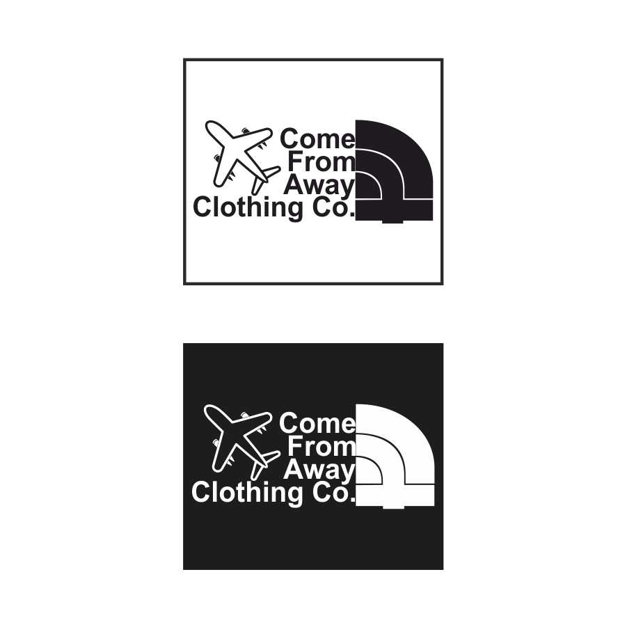 Logo Design by Taufiq Ardhani - Entry No. 84 in the Logo Design Contest Artistic Logo Design for Come From Away Clothing Company.