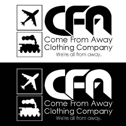 Logo Design by Julboy Salupan - Entry No. 85 in the Logo Design Contest Artistic Logo Design for Come From Away Clothing Company.