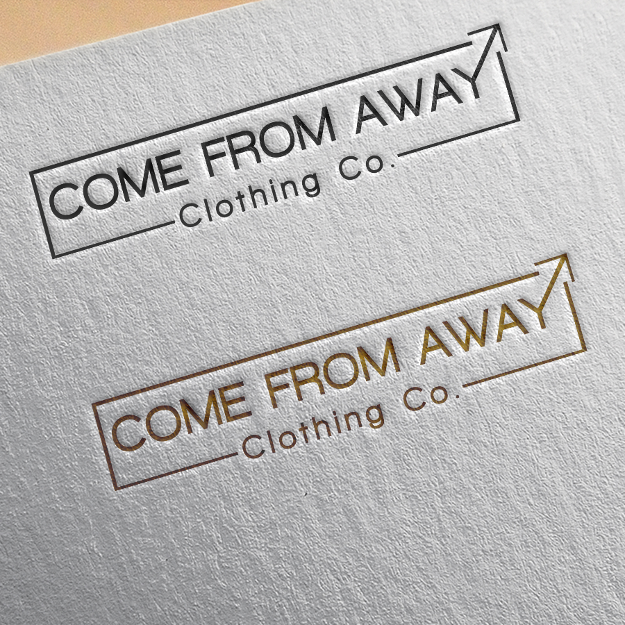 Logo Design by YANUAR ANTABUA - Entry No. 86 in the Logo Design Contest Artistic Logo Design for Come From Away Clothing Company.
