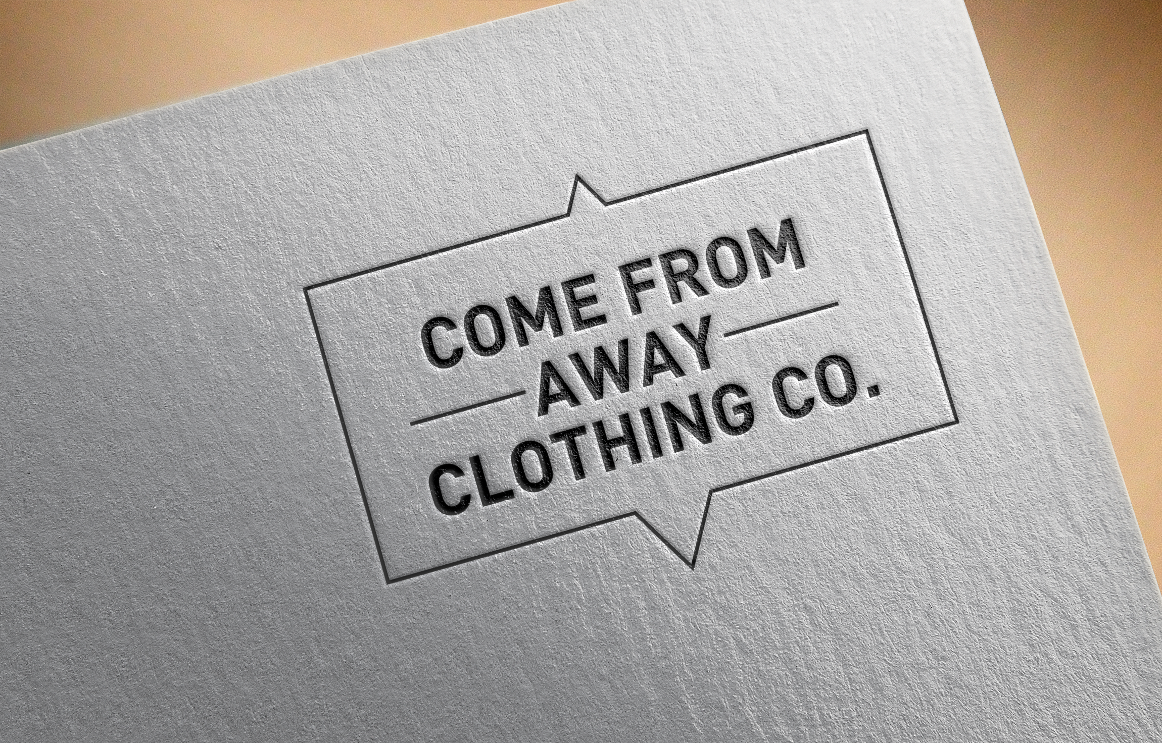 Logo Design by Prohor Ghagra - Entry No. 88 in the Logo Design Contest Artistic Logo Design for Come From Away Clothing Company.