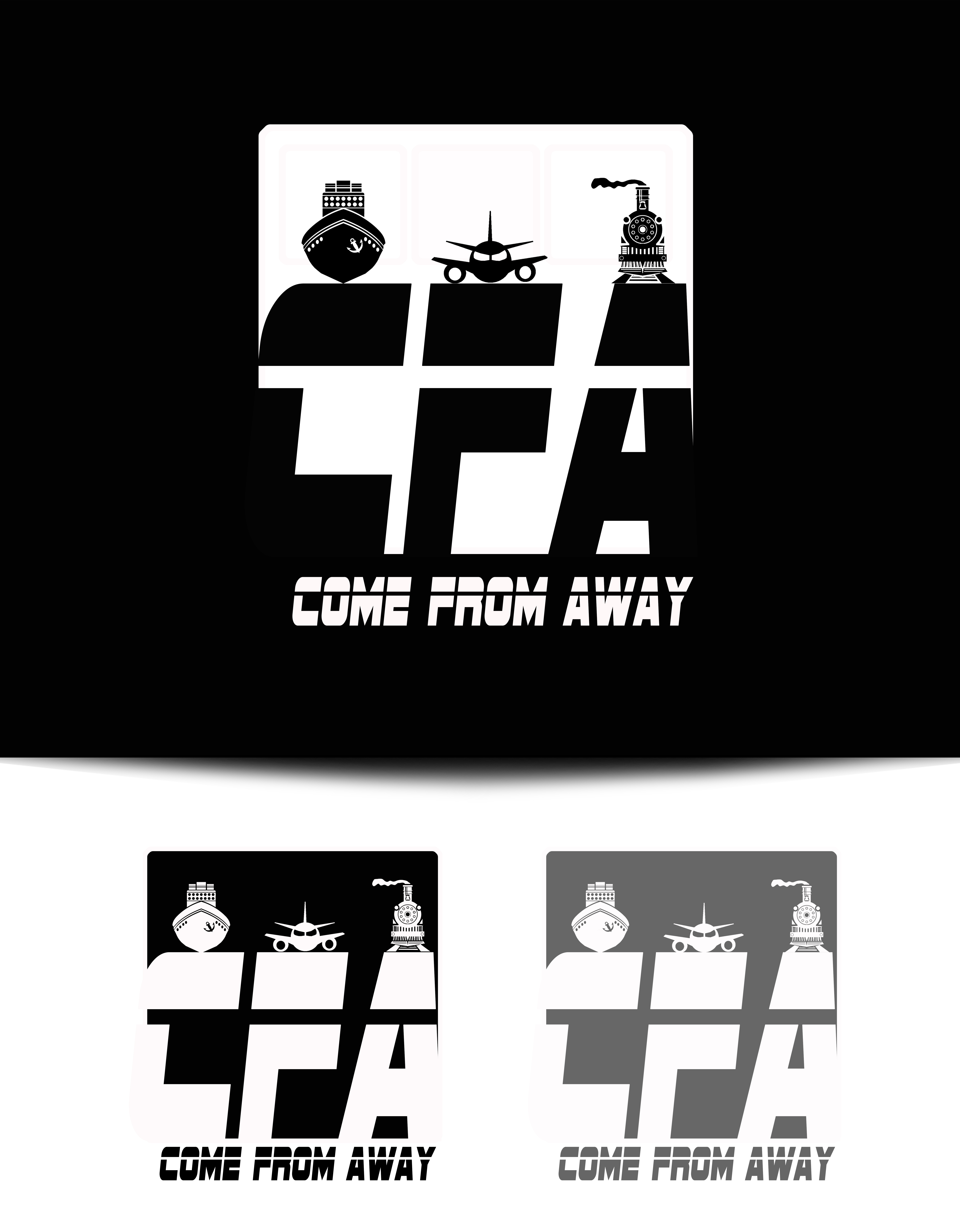Logo Design by JSDESIGNGROUP - Entry No. 97 in the Logo Design Contest Artistic Logo Design for Come From Away Clothing Company.