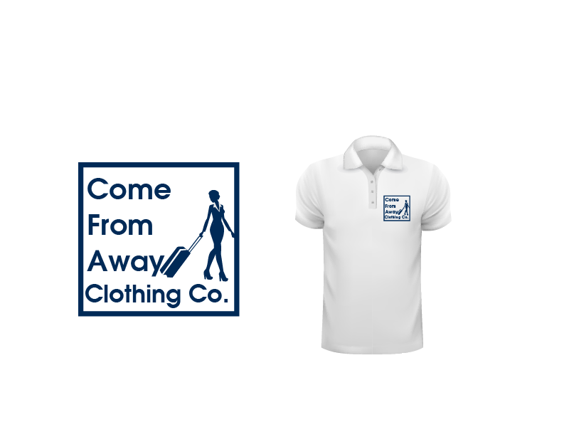 Logo Design by Private User - Entry No. 106 in the Logo Design Contest Artistic Logo Design for Come From Away Clothing Company.