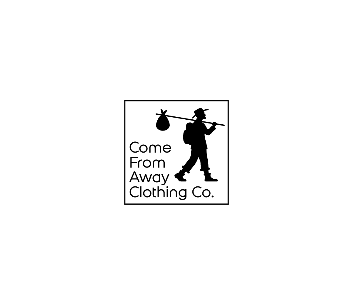 Logo Design by Juan Luna - Entry No. 109 in the Logo Design Contest Artistic Logo Design for Come From Away Clothing Company.