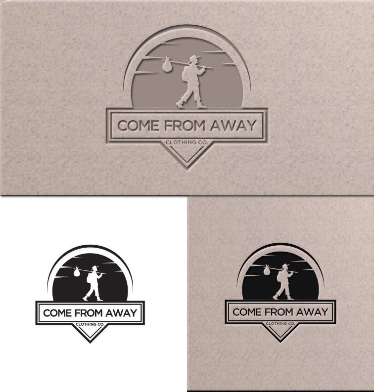 Logo Design by RasYa Muhammad Athaya - Entry No. 115 in the Logo Design Contest Artistic Logo Design for Come From Away Clothing Company.