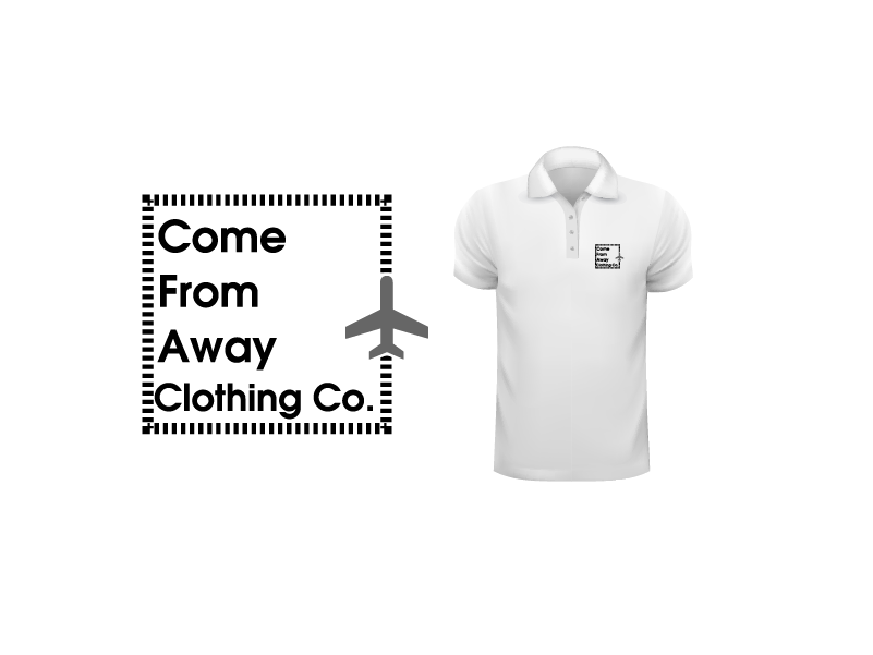 Logo Design by Private User - Entry No. 119 in the Logo Design Contest Artistic Logo Design for Come From Away Clothing Company.