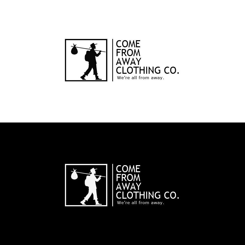 Logo Design by Jessica Kau - Entry No. 126 in the Logo Design Contest Artistic Logo Design for Come From Away Clothing Company.