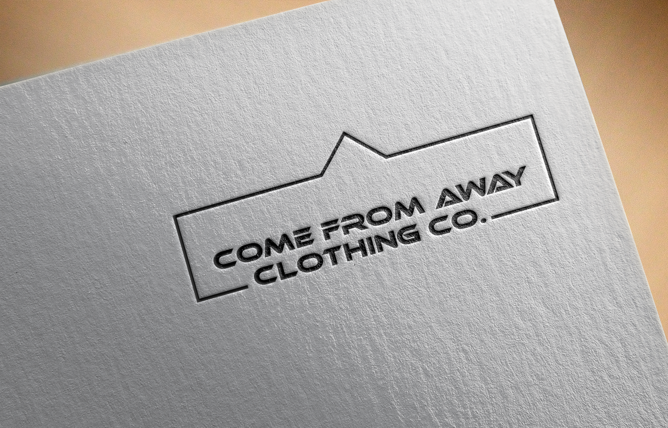 Logo Design by Ayrin Akter - Entry No. 142 in the Logo Design Contest Artistic Logo Design for Come From Away Clothing Company.