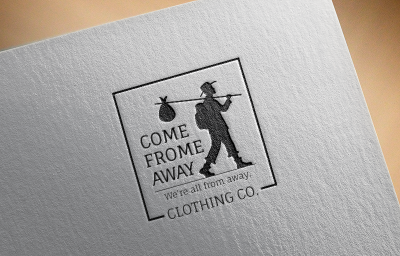 Logo Design by Private User - Entry No. 158 in the Logo Design Contest Artistic Logo Design for Come From Away Clothing Company.