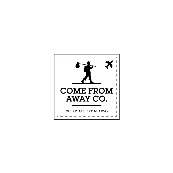 Logo Design by Tauhid Shaikh - Entry No. 180 in the Logo Design Contest Artistic Logo Design for Come From Away Clothing Company.