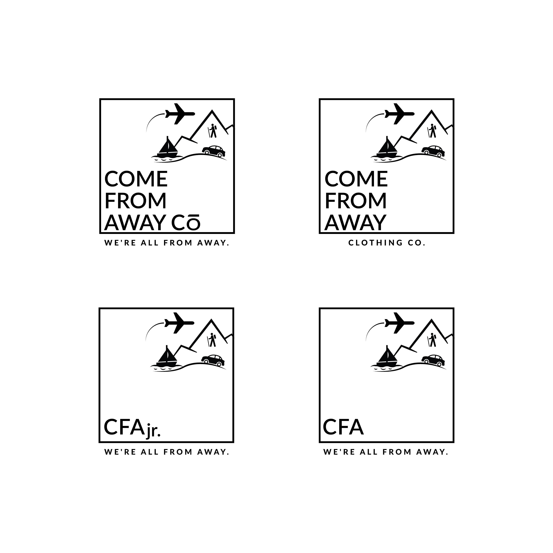 Logo Design by Aleksandar Stankov - Entry No. 185 in the Logo Design Contest Artistic Logo Design for Come From Away Clothing Company.