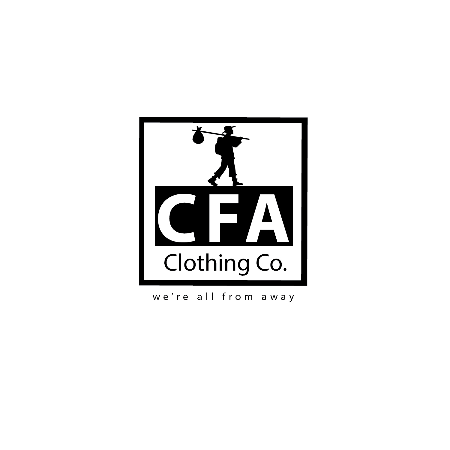 Logo Design by Shadman Sakib - Entry No. 205 in the Logo Design Contest Artistic Logo Design for Come From Away Clothing Company.