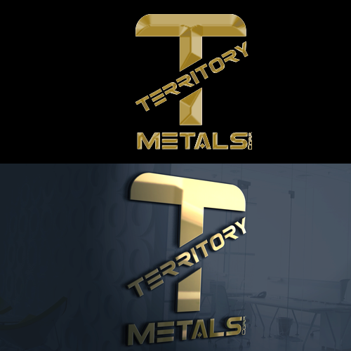Logo Design by Private User - Entry No. 12 in the Logo Design Contest Unique Logo Design Wanted for Territory Metals Corp..