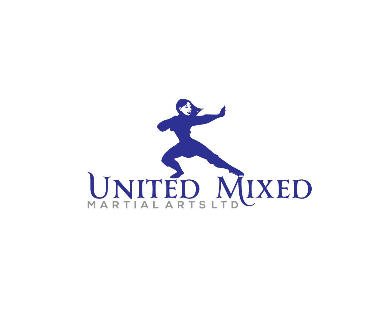 Logo Design by Naeem Billah - Entry No. 1 in the Logo Design Contest Artistic Logo Design for United Mixed Martial Arts Ltd..