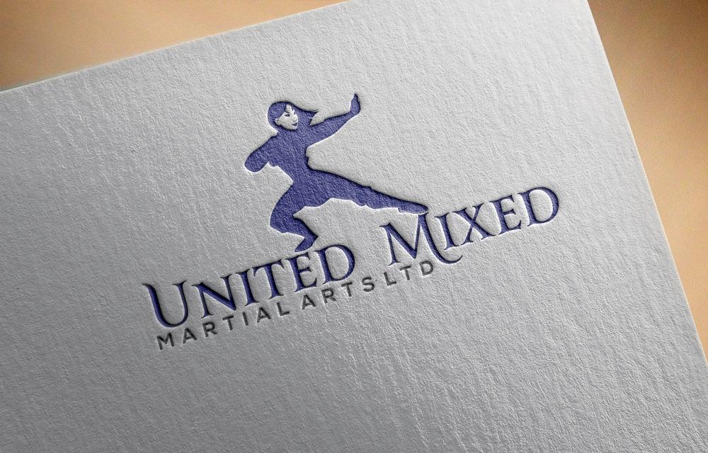 Logo Design by Naeem Billah - Entry No. 2 in the Logo Design Contest Artistic Logo Design for United Mixed Martial Arts Ltd..
