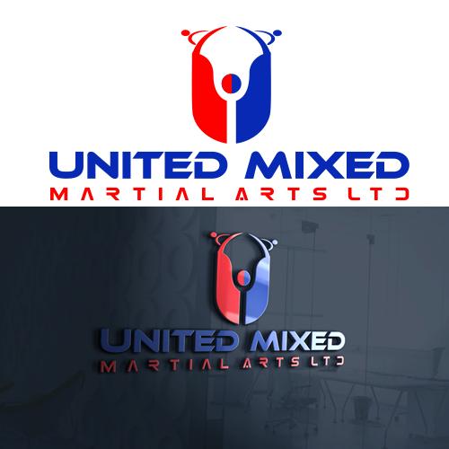 Logo Design by Private User - Entry No. 3 in the Logo Design Contest Artistic Logo Design for United Mixed Martial Arts Ltd..