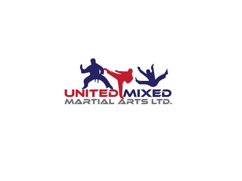 Logo Design by Private User - Entry No. 6 in the Logo Design Contest Artistic Logo Design for United Mixed Martial Arts Ltd..