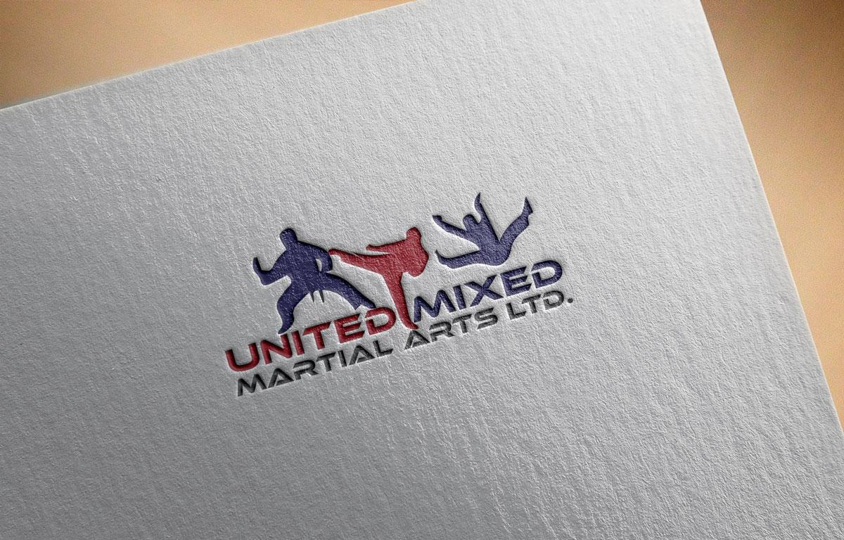 Logo Design by Private User - Entry No. 7 in the Logo Design Contest Artistic Logo Design for United Mixed Martial Arts Ltd..