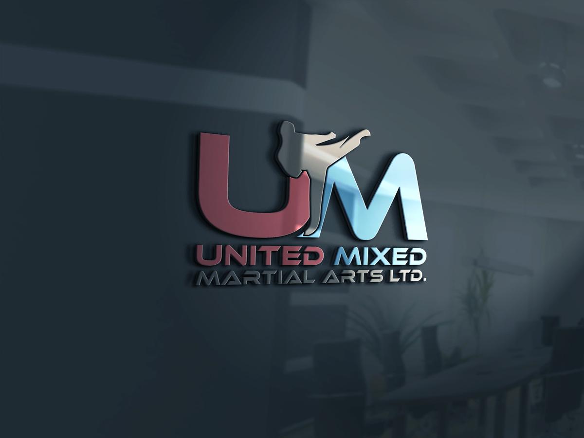 Logo Design by Private User - Entry No. 9 in the Logo Design Contest Artistic Logo Design for United Mixed Martial Arts Ltd..