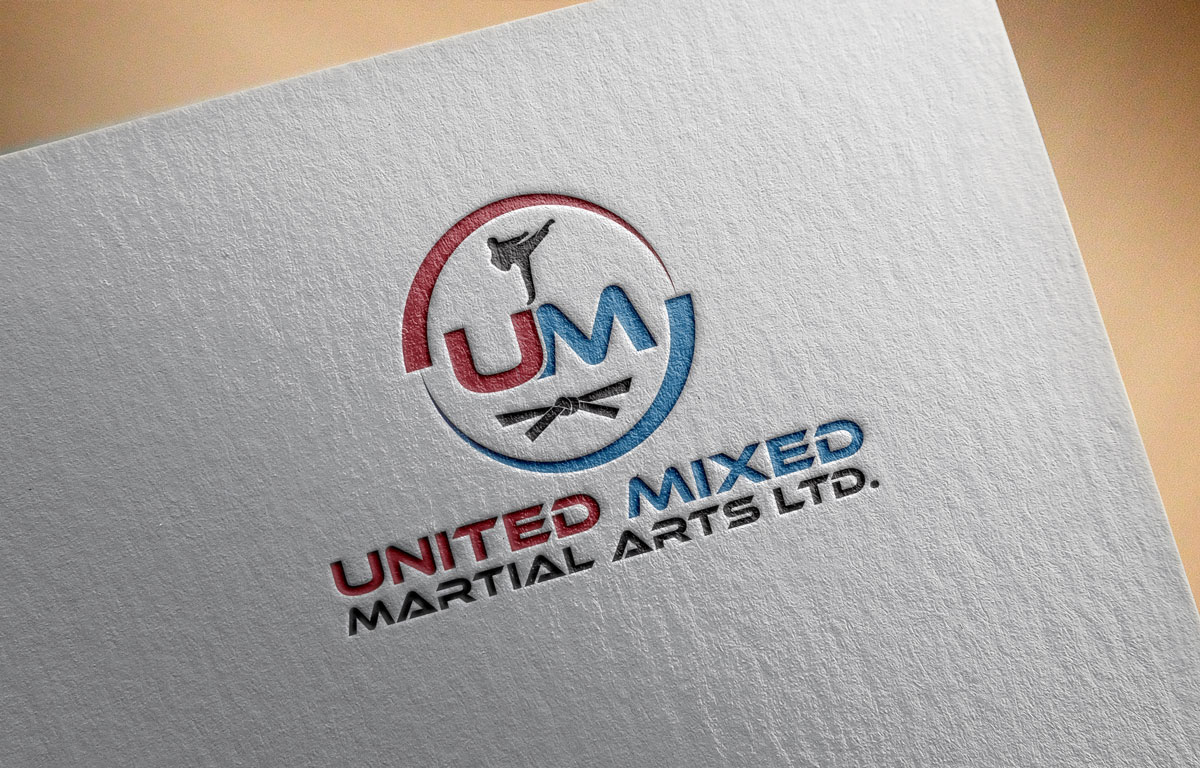 Logo Design by Private User - Entry No. 13 in the Logo Design Contest Artistic Logo Design for United Mixed Martial Arts Ltd..