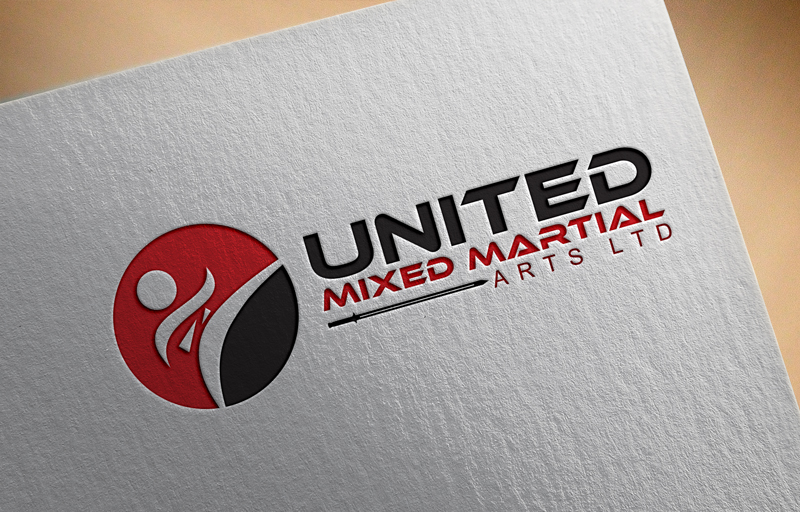 Logo Design by Ahmed Murad - Entry No. 18 in the Logo Design Contest Artistic Logo Design for United Mixed Martial Arts Ltd..