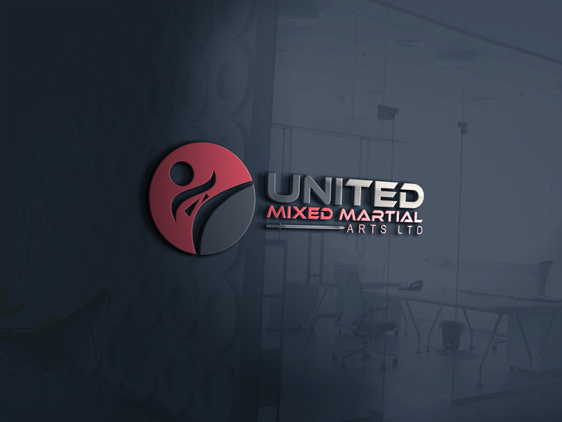 Logo Design by Ahmed Murad - Entry No. 19 in the Logo Design Contest Artistic Logo Design for United Mixed Martial Arts Ltd..