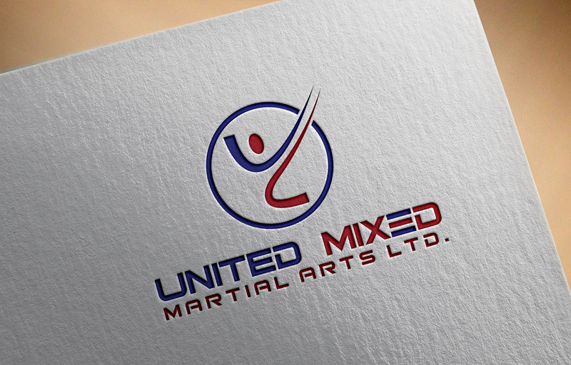 Logo Design by Riday Hassan - Entry No. 20 in the Logo Design Contest Artistic Logo Design for United Mixed Martial Arts Ltd..