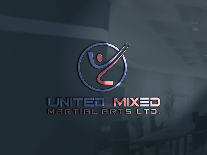 Logo Design by Riday Hassan - Entry No. 22 in the Logo Design Contest Artistic Logo Design for United Mixed Martial Arts Ltd..