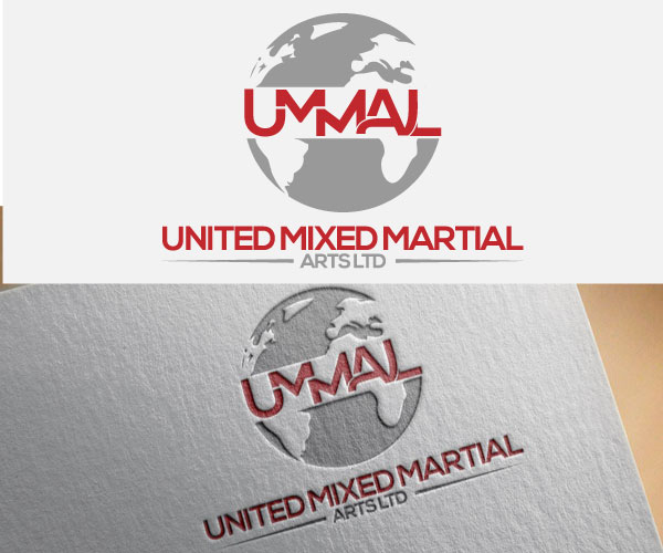 Logo Design by designboss - Entry No. 25 in the Logo Design Contest Artistic Logo Design for United Mixed Martial Arts Ltd..