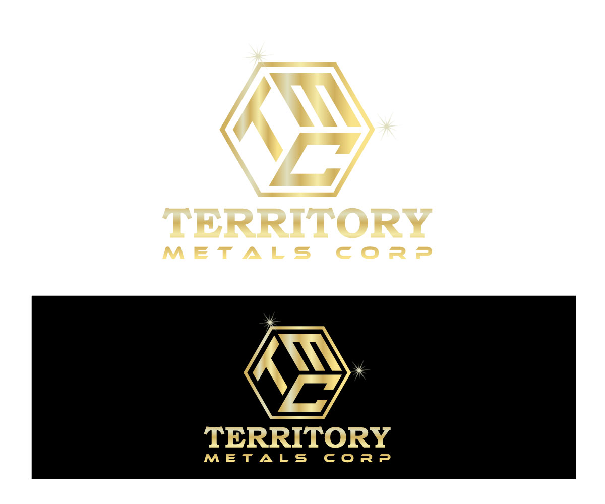 Logo Design by Md nayeem Khan - Entry No. 35 in the Logo Design Contest Unique Logo Design Wanted for Territory Metals Corp..
