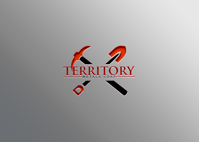 Logo Design by Ahmed Murad - Entry No. 40 in the Logo Design Contest Unique Logo Design Wanted for Territory Metals Corp..
