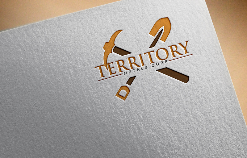 Logo Design by Ahmed Murad - Entry No. 41 in the Logo Design Contest Unique Logo Design Wanted for Territory Metals Corp..