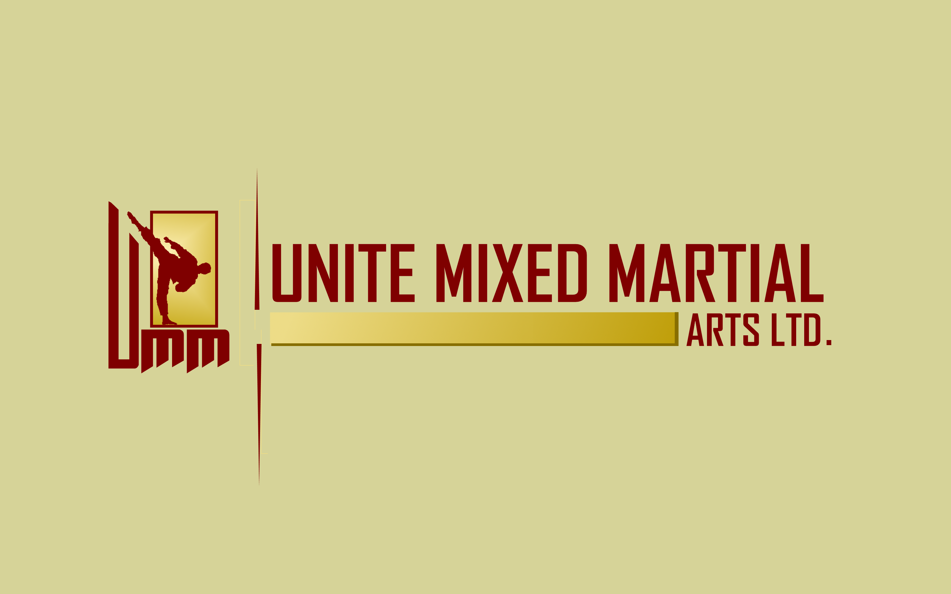 Logo Design by Roberto Bassi - Entry No. 33 in the Logo Design Contest Artistic Logo Design for United Mixed Martial Arts Ltd..