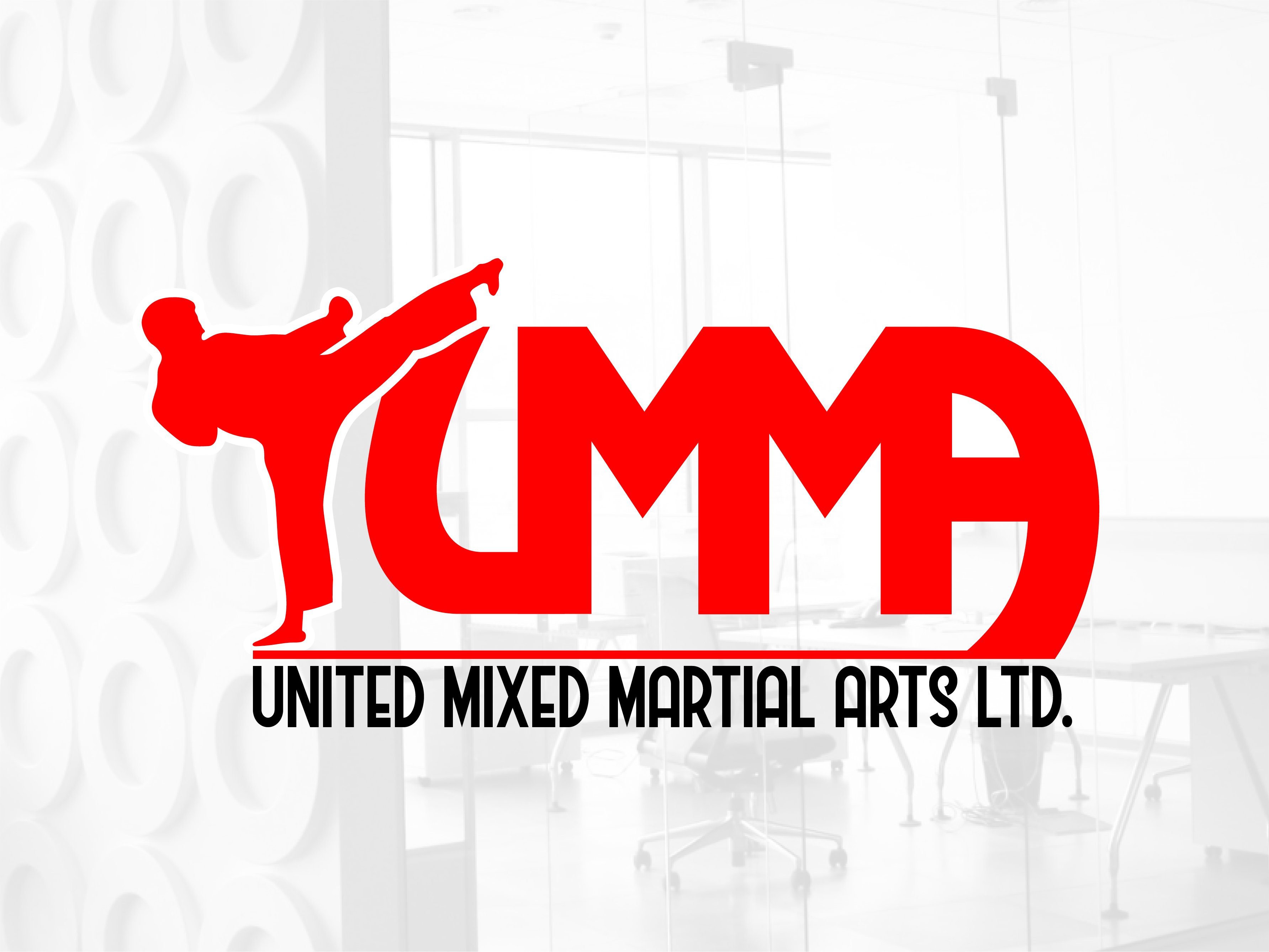Logo Design by Rob King - Entry No. 41 in the Logo Design Contest Artistic Logo Design for United Mixed Martial Arts Ltd..