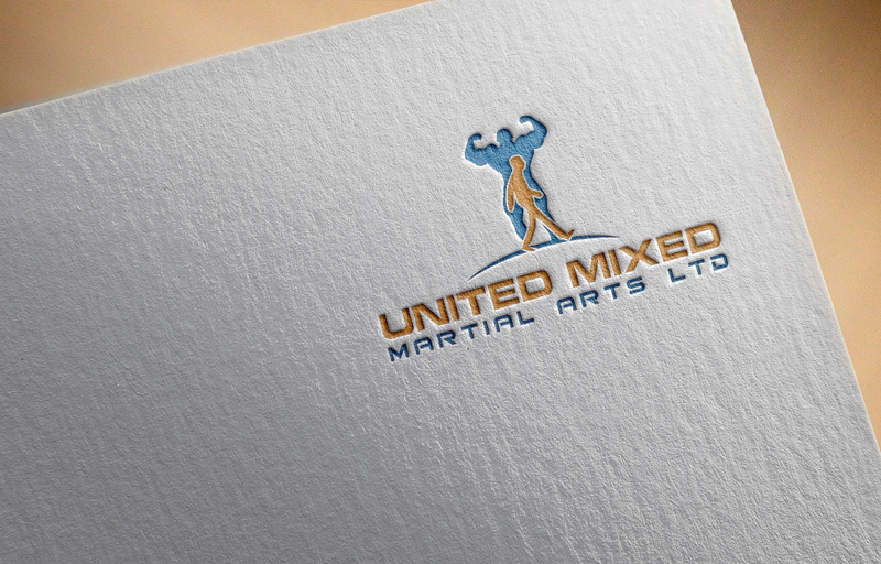 Logo Design by Mohammad azad Hossain - Entry No. 43 in the Logo Design Contest Artistic Logo Design for United Mixed Martial Arts Ltd..