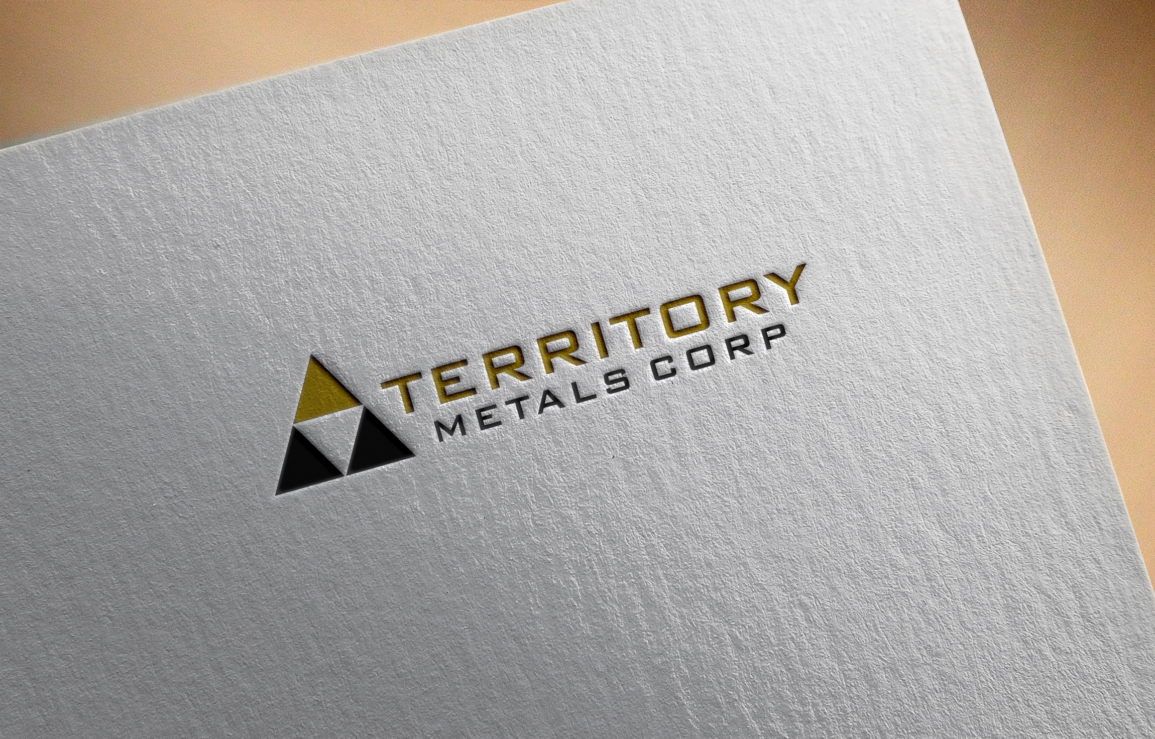 Logo Design by Fredi Santoso - Entry No. 60 in the Logo Design Contest Unique Logo Design Wanted for Territory Metals Corp..
