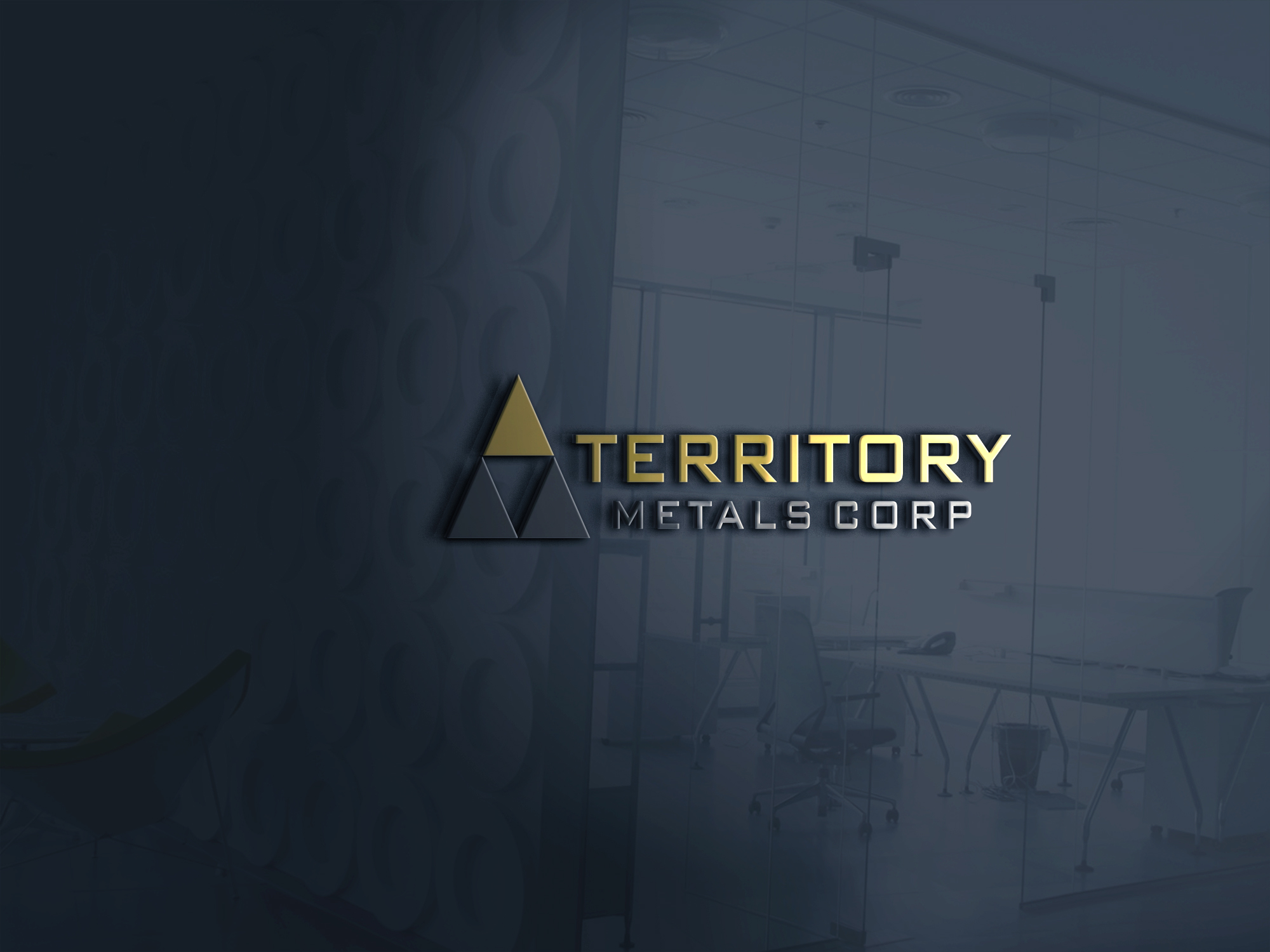 Logo Design by Fredi Santoso - Entry No. 61 in the Logo Design Contest Unique Logo Design Wanted for Territory Metals Corp..