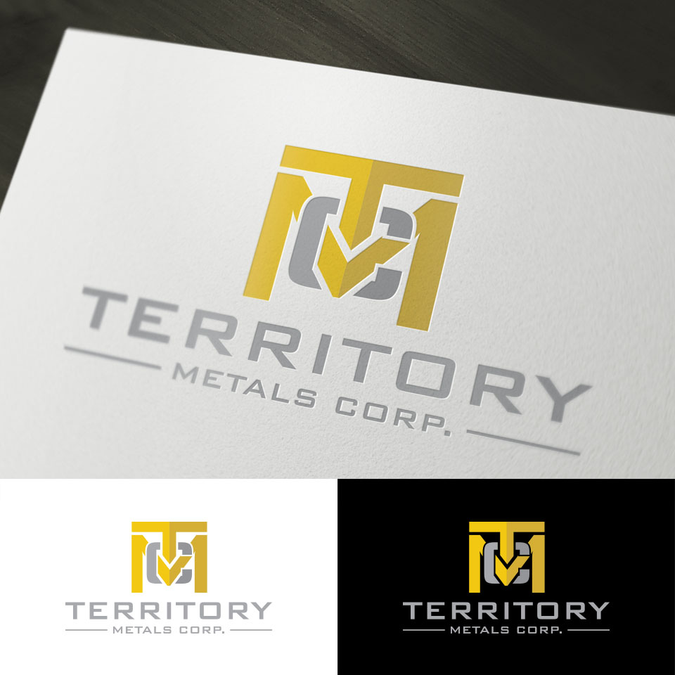 Logo Design by Batter Fly - Entry No. 64 in the Logo Design Contest Unique Logo Design Wanted for Territory Metals Corp..