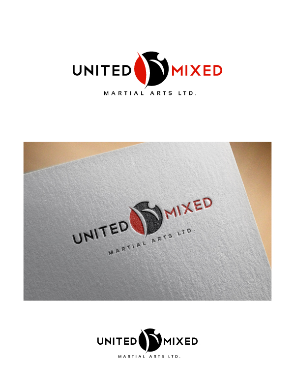 Logo Design by Tauhid Shaikh - Entry No. 49 in the Logo Design Contest Artistic Logo Design for United Mixed Martial Arts Ltd..