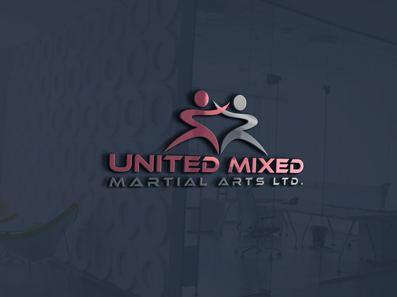 Logo Design by Maksud Rifat - Entry No. 50 in the Logo Design Contest Artistic Logo Design for United Mixed Martial Arts Ltd..