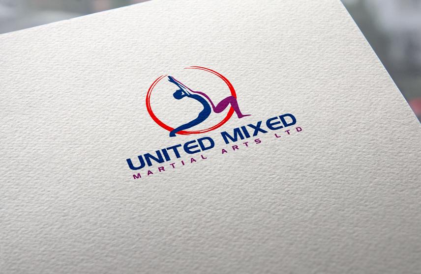 Logo Design by Private User - Entry No. 60 in the Logo Design Contest Artistic Logo Design for United Mixed Martial Arts Ltd..
