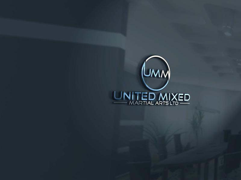 Logo Design by Private User - Entry No. 62 in the Logo Design Contest Artistic Logo Design for United Mixed Martial Arts Ltd..