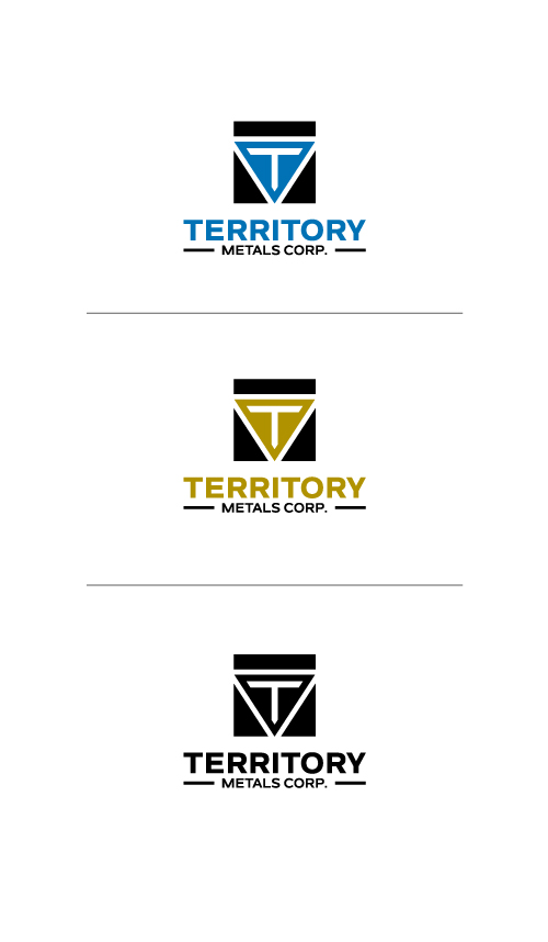 Logo Design by Tauhid Shaikh - Entry No. 96 in the Logo Design Contest Unique Logo Design Wanted for Territory Metals Corp..
