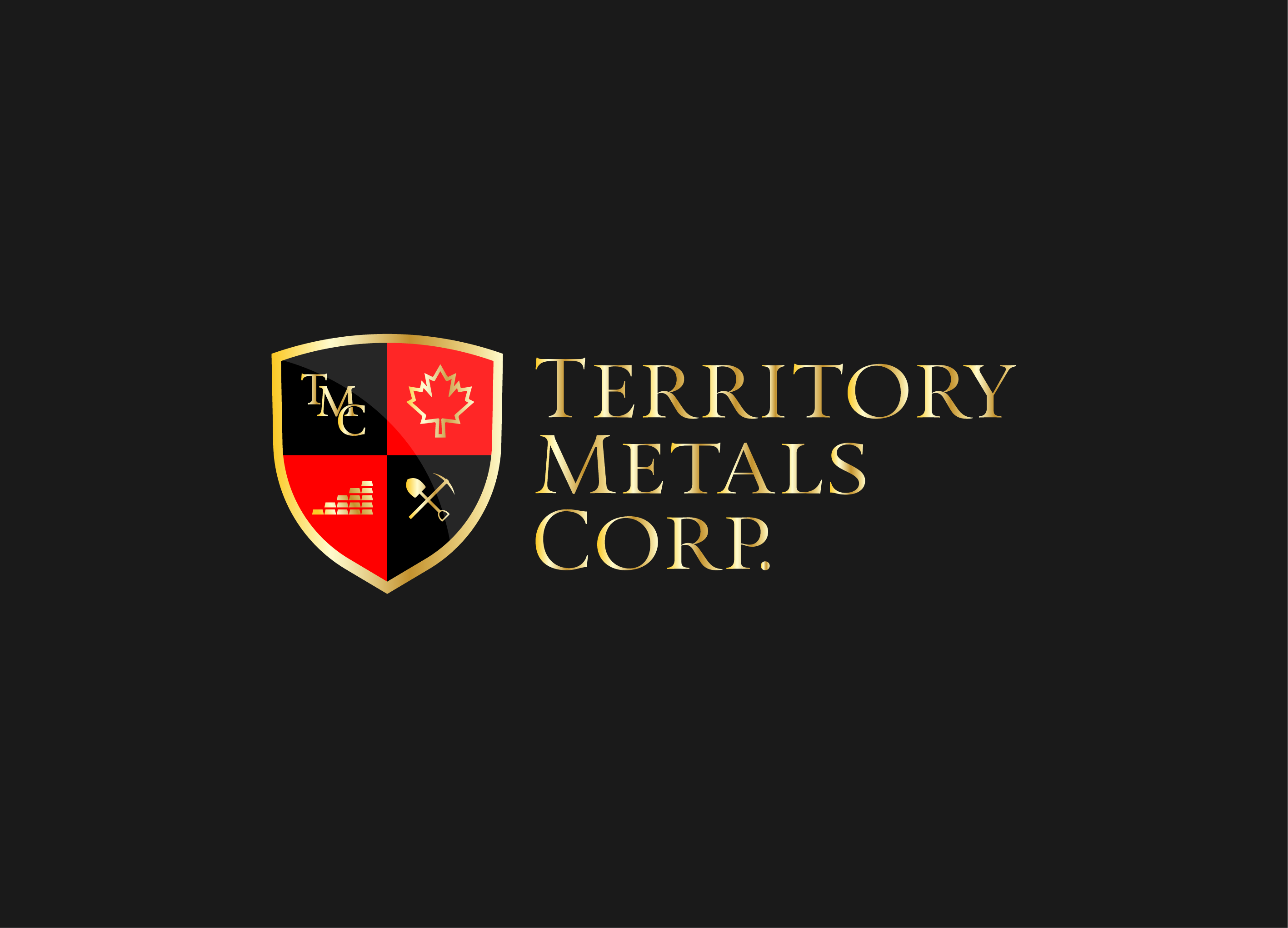 Logo Design by Dexter Onate - Entry No. 100 in the Logo Design Contest Unique Logo Design Wanted for Territory Metals Corp..