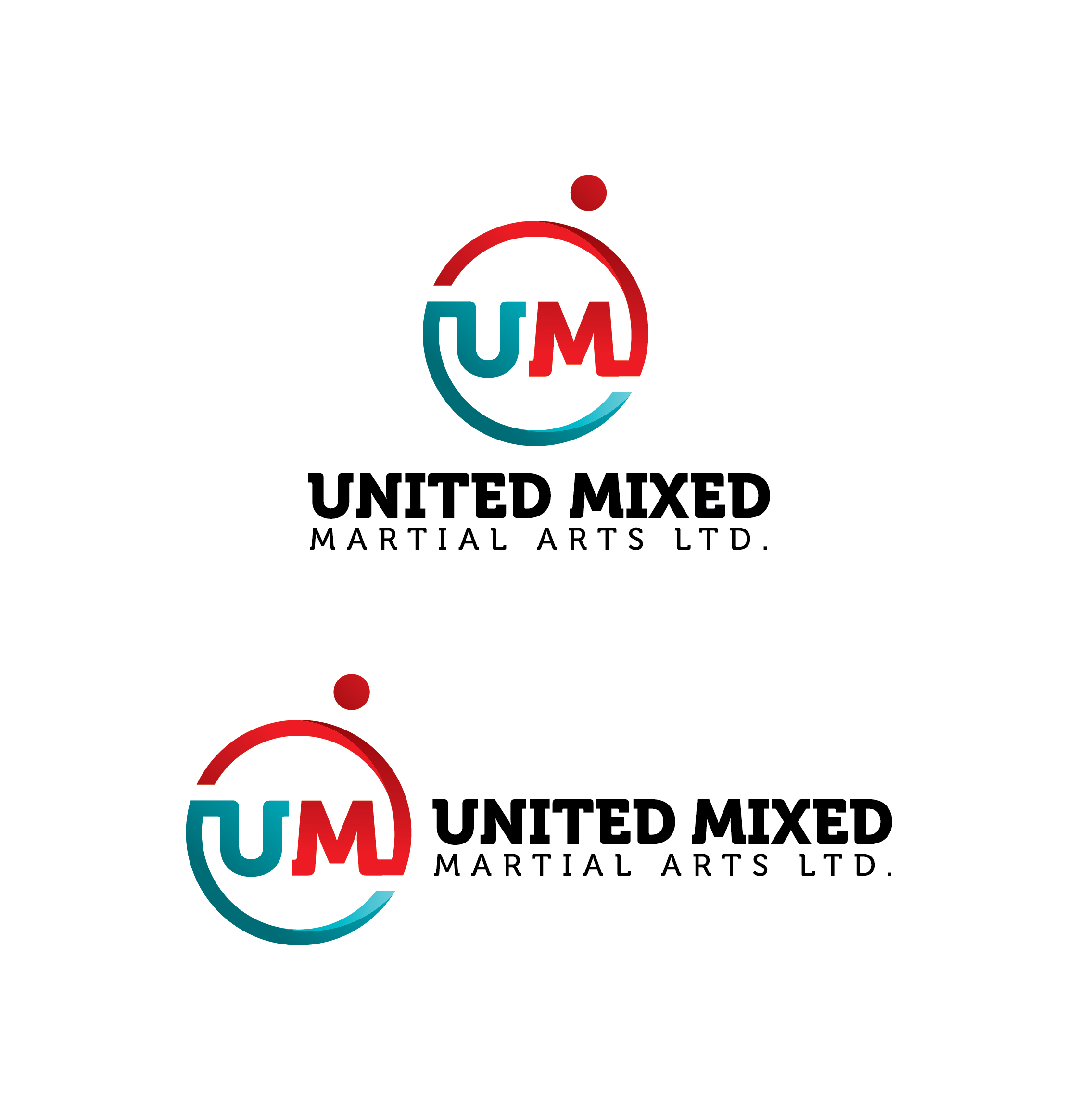 Logo Design by Prohor Ghagra - Entry No. 74 in the Logo Design Contest Artistic Logo Design for United Mixed Martial Arts Ltd..